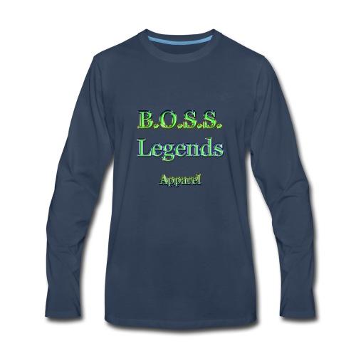 Boss Legends 1 - Men's Premium Long Sleeve T-Shirt