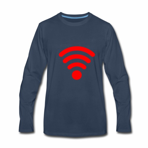 WIFI - Men's Premium Long Sleeve T-Shirt
