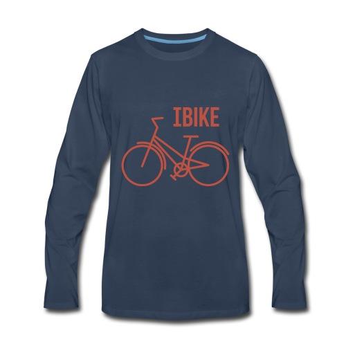 I Bike - Men's Premium Long Sleeve T-Shirt