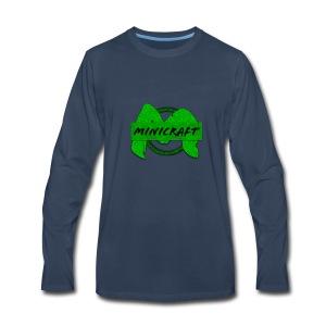Minicraft - Men's Premium Long Sleeve T-Shirt