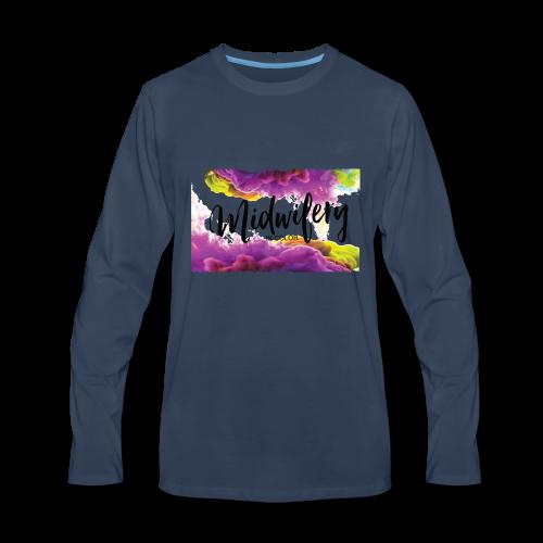 MIC Color Cloud Transparent - Men's Premium Long Sleeve T-Shirt