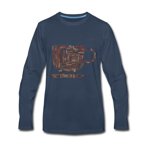 [2800+Sold] Just Love Coffee - Men's Premium Long Sleeve T-Shirt