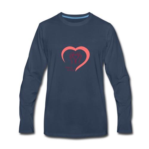 love me - Men's Premium Long Sleeve T-Shirt
