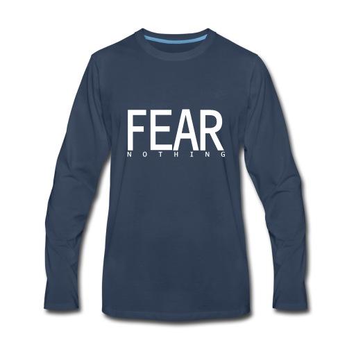 FEAR_NOTHING - Men's Premium Long Sleeve T-Shirt