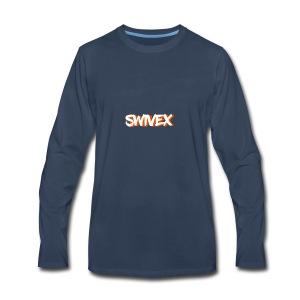 W.O. swivex line - Men's Premium Long Sleeve T-Shirt