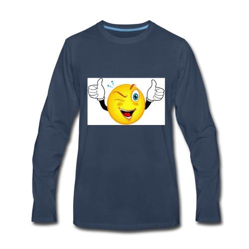 smiley merch - Men's Premium Long Sleeve T-Shirt
