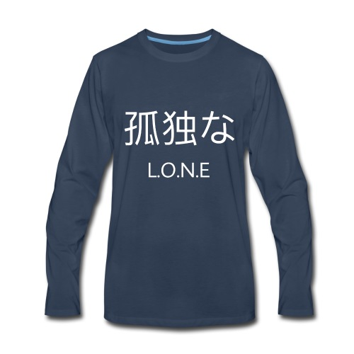 L.O.N.E - Men's Premium Long Sleeve T-Shirt