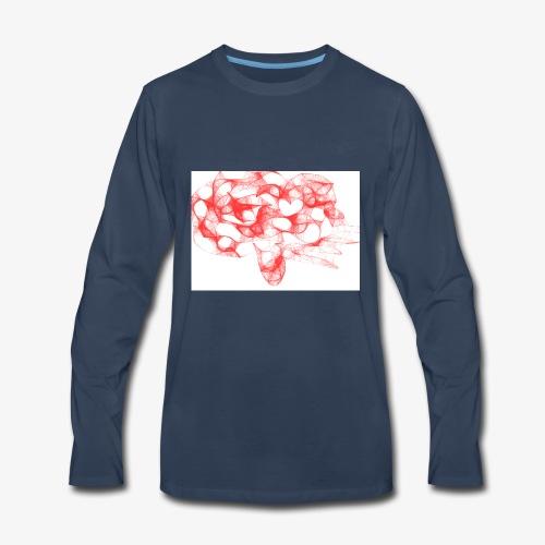 anger beyond - Men's Premium Long Sleeve T-Shirt