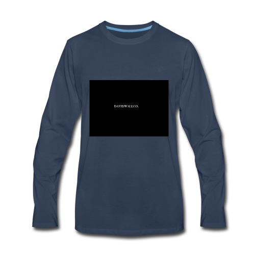 davidwallco. - Men's Premium Long Sleeve T-Shirt