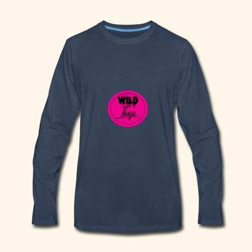 wild things - Men's Premium Long Sleeve T-Shirt