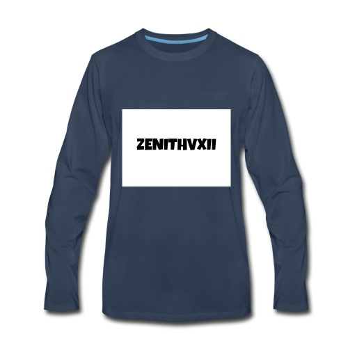 Premium ZENITHVXII LOGO DESIGN - Men's Premium Long Sleeve T-Shirt