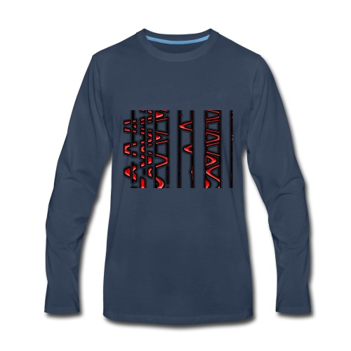Weebles design - Men's Premium Long Sleeve T-Shirt