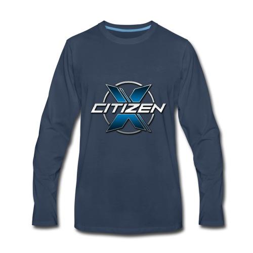 CitizenX Team Logo - Men's Premium Long Sleeve T-Shirt
