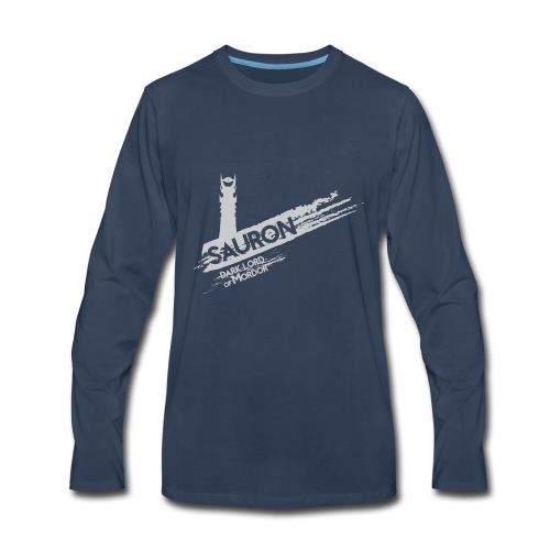 Tower of Sauron - Men's Premium Long Sleeve T-Shirt
