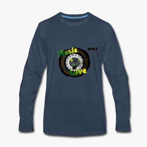 Music Is Love - Men's Premium Long Sleeve T-Shirt