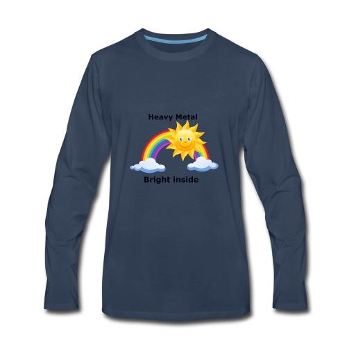 heavymetal bright inside - Men's Premium Long Sleeve T-Shirt