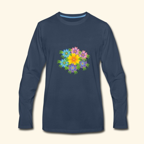 flower1 - Men's Premium Long Sleeve T-Shirt