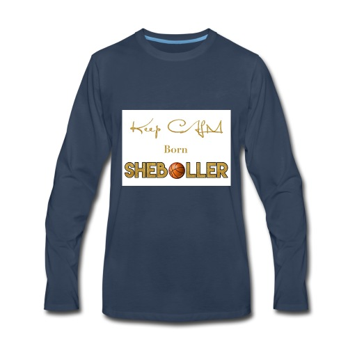 Girl Basketball shirt - Men's Premium Long Sleeve T-Shirt