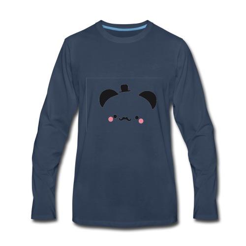 Panda Gentleman - Men's Premium Long Sleeve T-Shirt