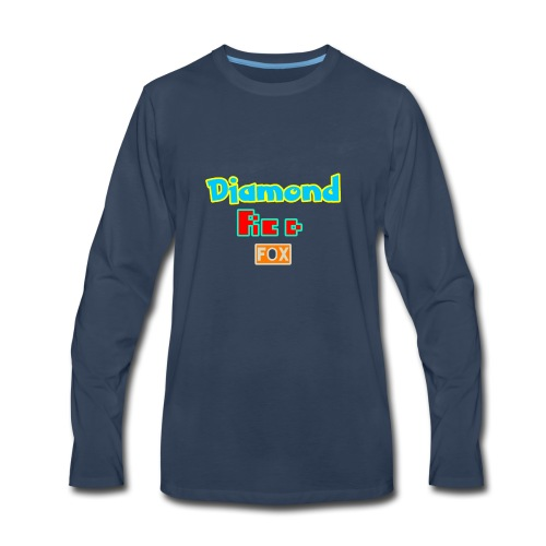 Diamond red fox official - Men's Premium Long Sleeve T-Shirt