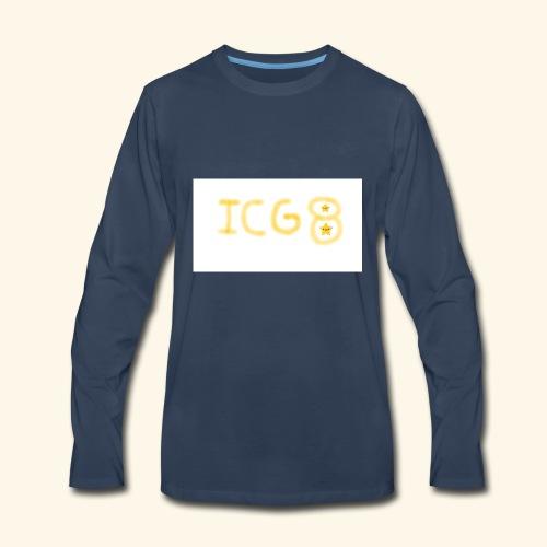ICG8 with Paint - Men's Premium Long Sleeve T-Shirt