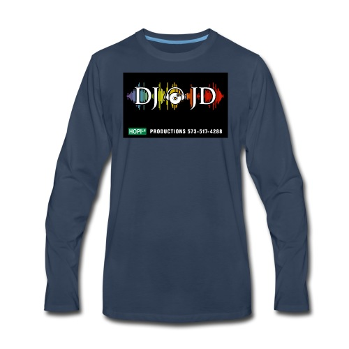 DJ JD - Men's Premium Long Sleeve T-Shirt