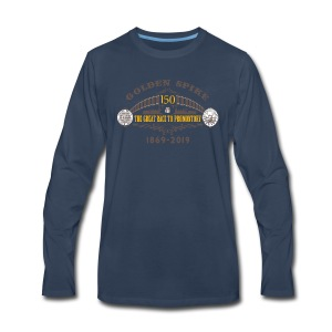 Golden Spike Version 1 - Men's Premium Long Sleeve T-Shirt