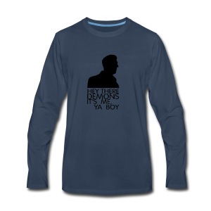 hey demons its me ya boy - Men's Premium Long Sleeve T-Shirt