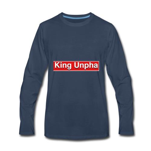 This is the king unpha merch - Men's Premium Long Sleeve T-Shirt
