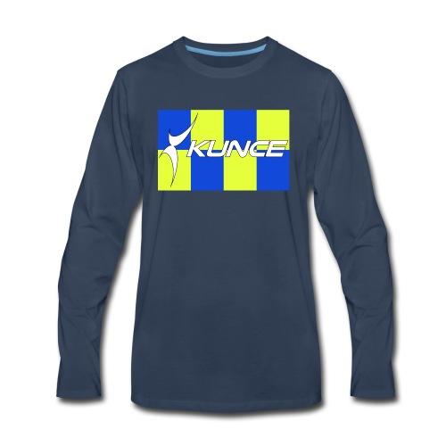 Kunce Clothing Original High Visibility Battenberg - Men's Premium Long Sleeve T-Shirt