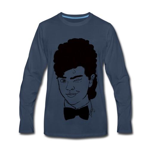 wink wink - Men's Premium Long Sleeve T-Shirt