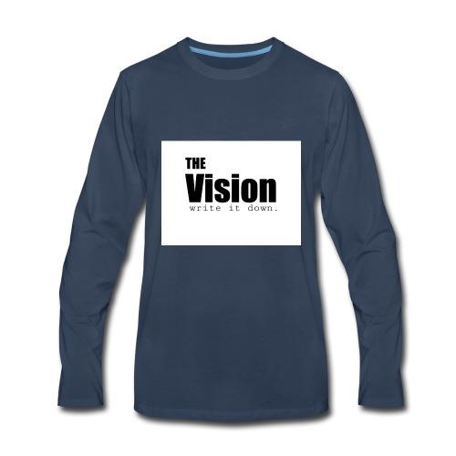 the_vision - Men's Premium Long Sleeve T-Shirt