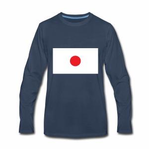 Japan love - Men's Premium Long Sleeve T-Shirt