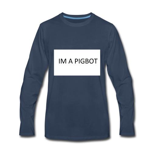 OFFICAL PIGBOT MERCH - Men's Premium Long Sleeve T-Shirt