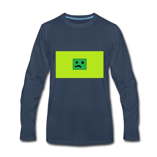 Creeper Head YT fan merch - Men's Premium Long Sleeve T-Shirt