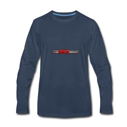 The Hex Wars Updated Logo - Men's Premium Long Sleeve T-Shirt