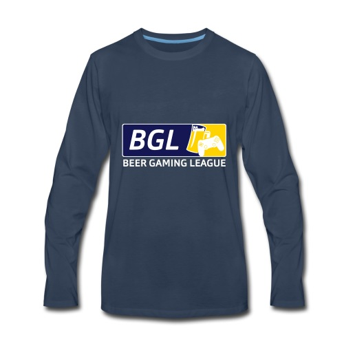 Mens Official Beer Gaming League Shirt - Men's Premium Long Sleeve T-Shirt