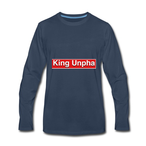 This is the king unpha merch - Men's Premium Long Sleeve T-Shirt