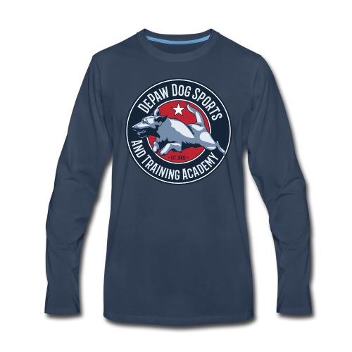 DePaw Classic - Men's Premium Long Sleeve T-Shirt