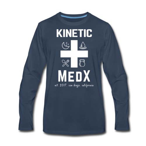 Kinetic MedX - Men's Premium Long Sleeve T-Shirt