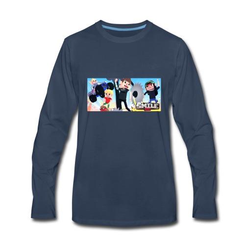 Smile Inc Hoodie - Men's Premium Long Sleeve T-Shirt