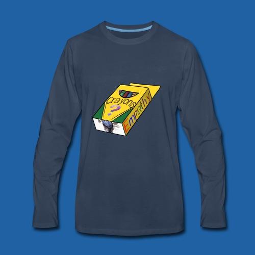 Colors of Empathy - Men's Premium Long Sleeve T-Shirt