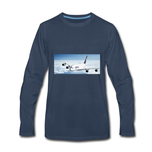 Lufthansa - Men's Premium Long Sleeve T-Shirt