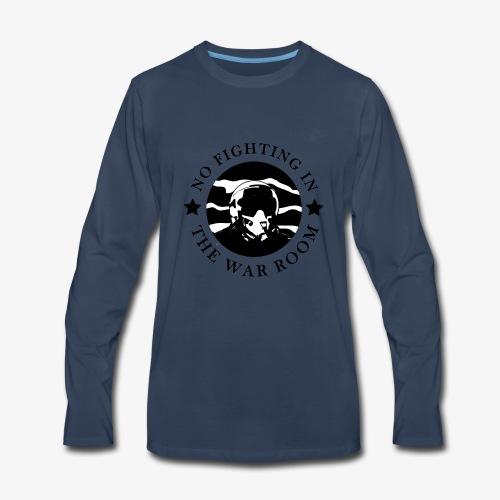 The War Room Motto - Pilot - Men's Premium Long Sleeve T-Shirt