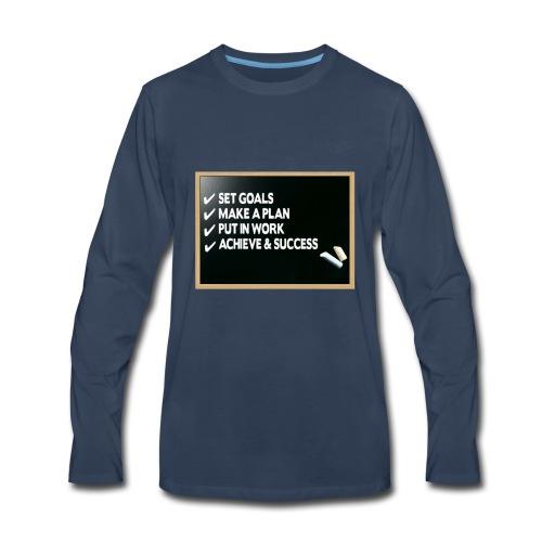 Check list - Men's Premium Long Sleeve T-Shirt