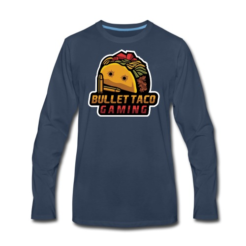 Bullet Taco Gaming - Men's Premium Long Sleeve T-Shirt