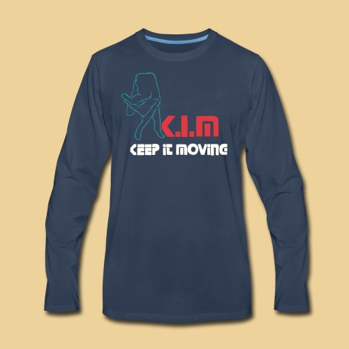 K I M offical - Men's Premium Long Sleeve T-Shirt