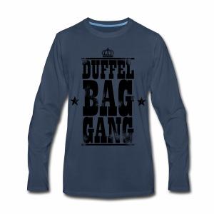 DuffelBagGang Promo T Shirts - Men's Premium Long Sleeve T-Shirt