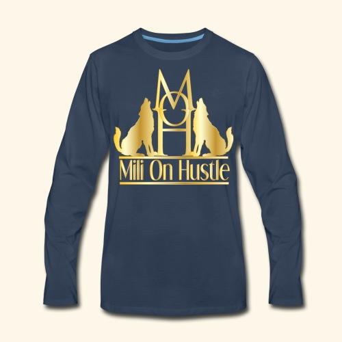New Mili On Hustle - Men's Premium Long Sleeve T-Shirt