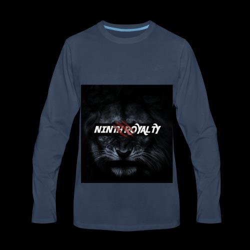 NINTH ROYALTY LION - Men's Premium Long Sleeve T-Shirt